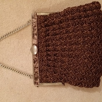 Crochet raffia handbag - Bags