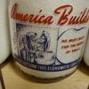 Unusual War Slogan Milk Bottles #2...........