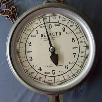 Detecto  31 S series Double Sided Dial Hanging Scale