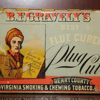 Just an old tobacco tin - Tobacciana