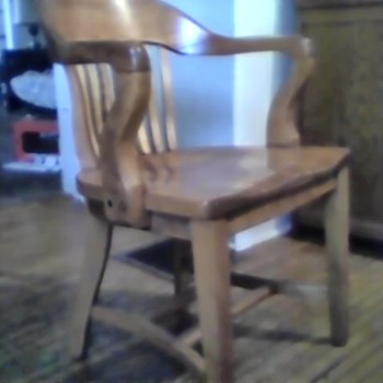 Antique jury chair