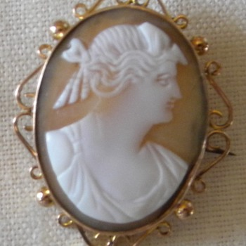 My grandmothers cameo - Fine Jewelry