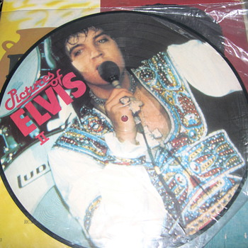 "ELVIS PRESLEY PICTURES OF ELVIS PART 2 ""PICTURE DISC"" - Records"