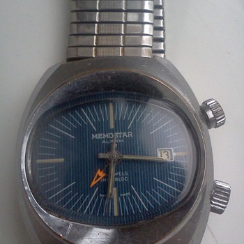 Memostar alarm watch - Wristwatches