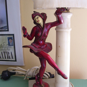 Gerdago Pixie Lamp - Art Deco