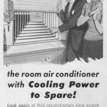 1954 - Mitchell Air Conditioner Advertisement - Advertising