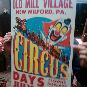 Circus poster - Posters and Prints