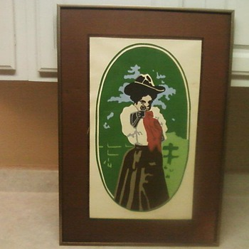 ANNIE OAKLEY SERIGRAPH PRINT