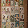 Antique baseball card scrapbook from the early 1900&#039;s
