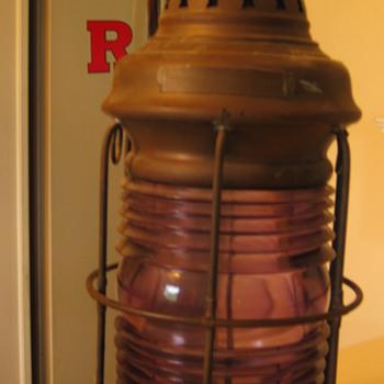 Ship Lantern - Lamps