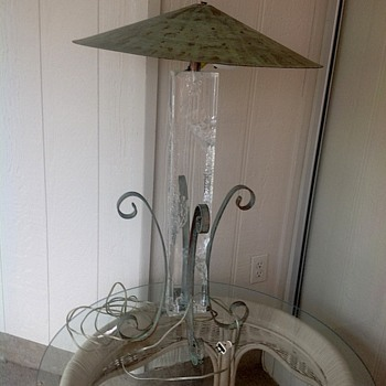 Estate sale lamp
