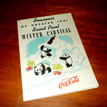 1941 Saint Paul Coca-Cola Panda brochure