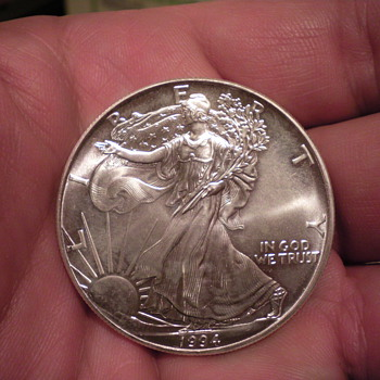 1994 silver dollar - US Coins