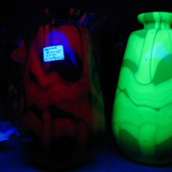 some black light fun   - Art Glass