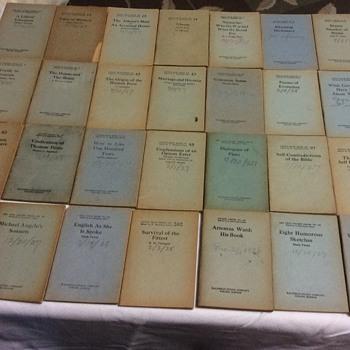 Little Blue Books 1920's