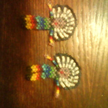 Indian Seed Beaded Dolls