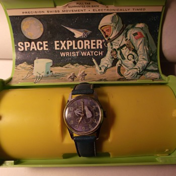 Space Explorer Wrist Watch - Wristwatches