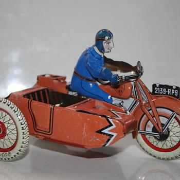 SFA tin toy motorcycle