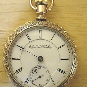 1893 Elgin Pocket Watch  - Pocket Watches
