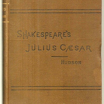 1891 - Shakespeare's Julius Caesar - Books