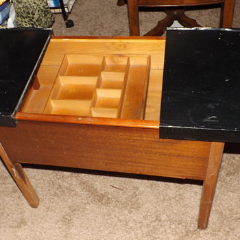 Vintage Sewing Box Stand  - Sewing