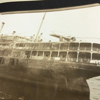 Original SS MORRO CASTLE 1934 BEACHED FROM FIRE CUBA/N.Y SHIP