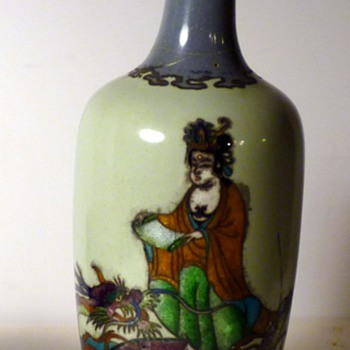 an interesting cloisonne vase