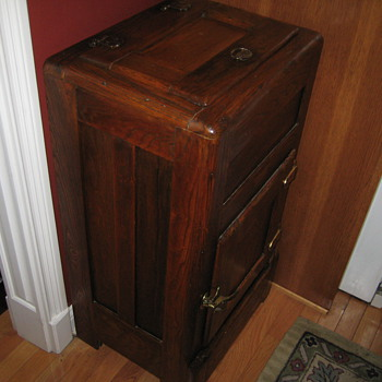 Antique Icebox - Kitchen