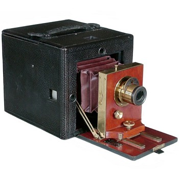 Rochester Optical Company Folding Premier Camera, 1892