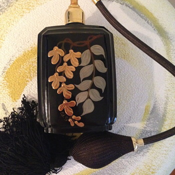 Marcel Franck PARIS Perfume Bottle Atomizer - Art Glass
