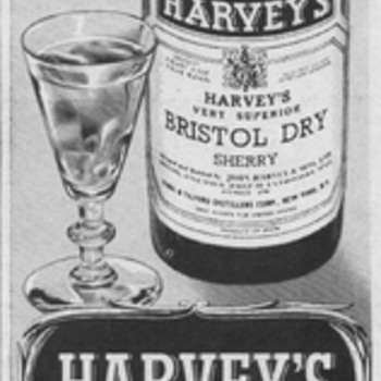1954 Harveys Bristol Advertisements - Advertising