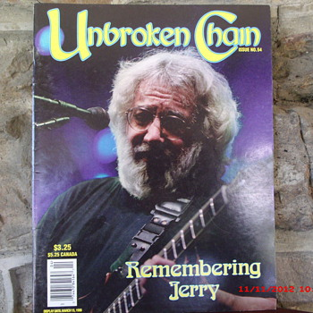 From my Grateful Dead Collection is Unbroken Chain Magazine from Jan. Feb. March 1996 - Music