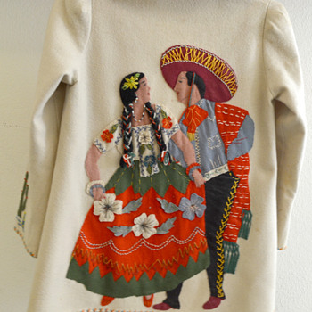 Vintage Mexican Jacket - Womens Clothing