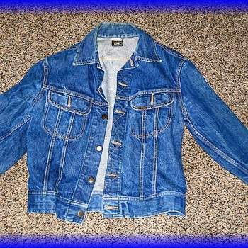 Vintage Canadian Tuxedo -- LEE Blue Jean Jacket ( Part I of II )
