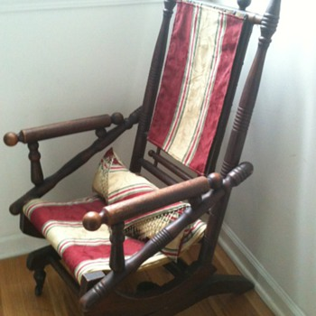 Antique Platform Glider - Furniture