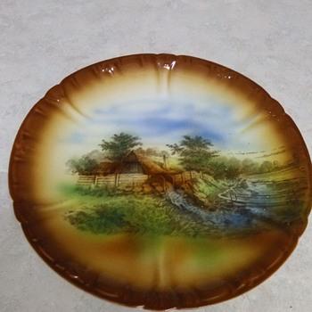SCENIC PLATE - China and Dinnerware