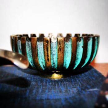 Pal Bell, bronze bowl, Israel 1950s - Mid-Century Modern