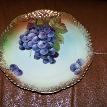 Wurrtemberg Grape Plate