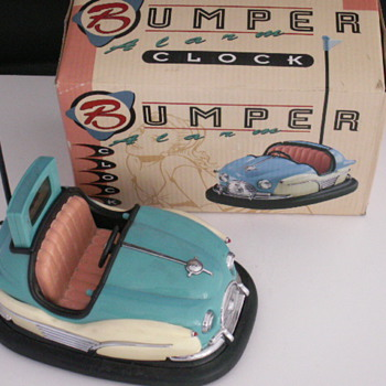 Bumper Car Alarm Clock - Clocks