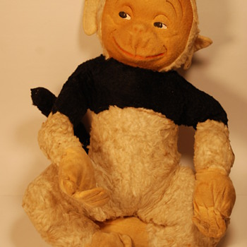 "Very Cute "" GUND "" Monkey, Need help to ID it? - Dolls"