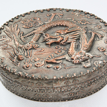 Chinese trinket box - Asian
