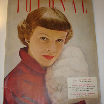 "LADY'S HOME JOURNAL 1949 ""THE MAGAZINE WOMEN BELIEVE IN"""