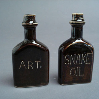 Is it Art or is it Snake Oil? - Bottles