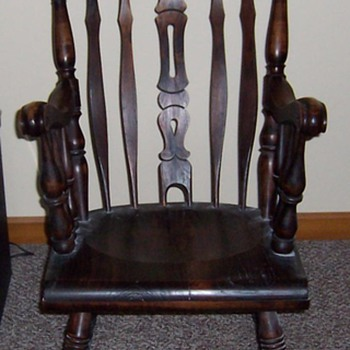 Unknown rocker - Furniture