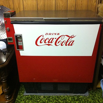 Coca cola cooler