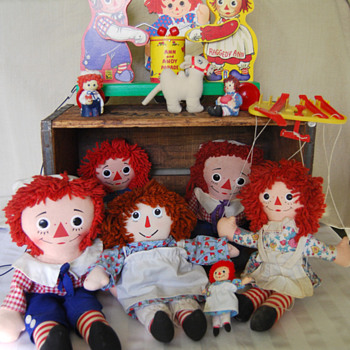 My Raggedy Ann & Andy Dolls