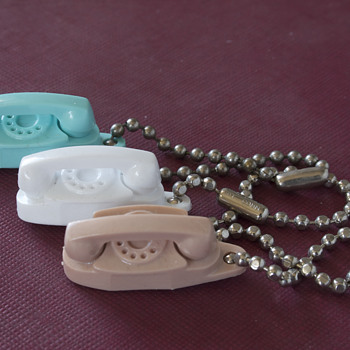 Princess and TrimLine Telephone Keychains….