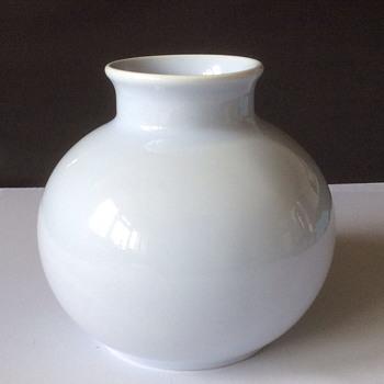 Poole pottery vase