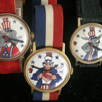 Political Watches - Wristwatches