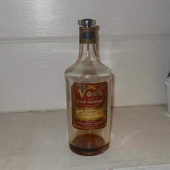 Voss Hair Medicine Bottle - Bottles